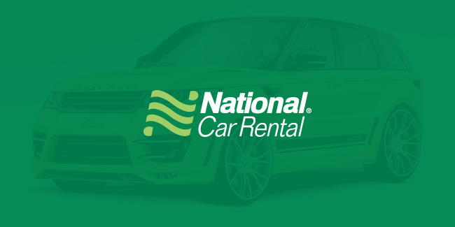 National Car Rental – Website