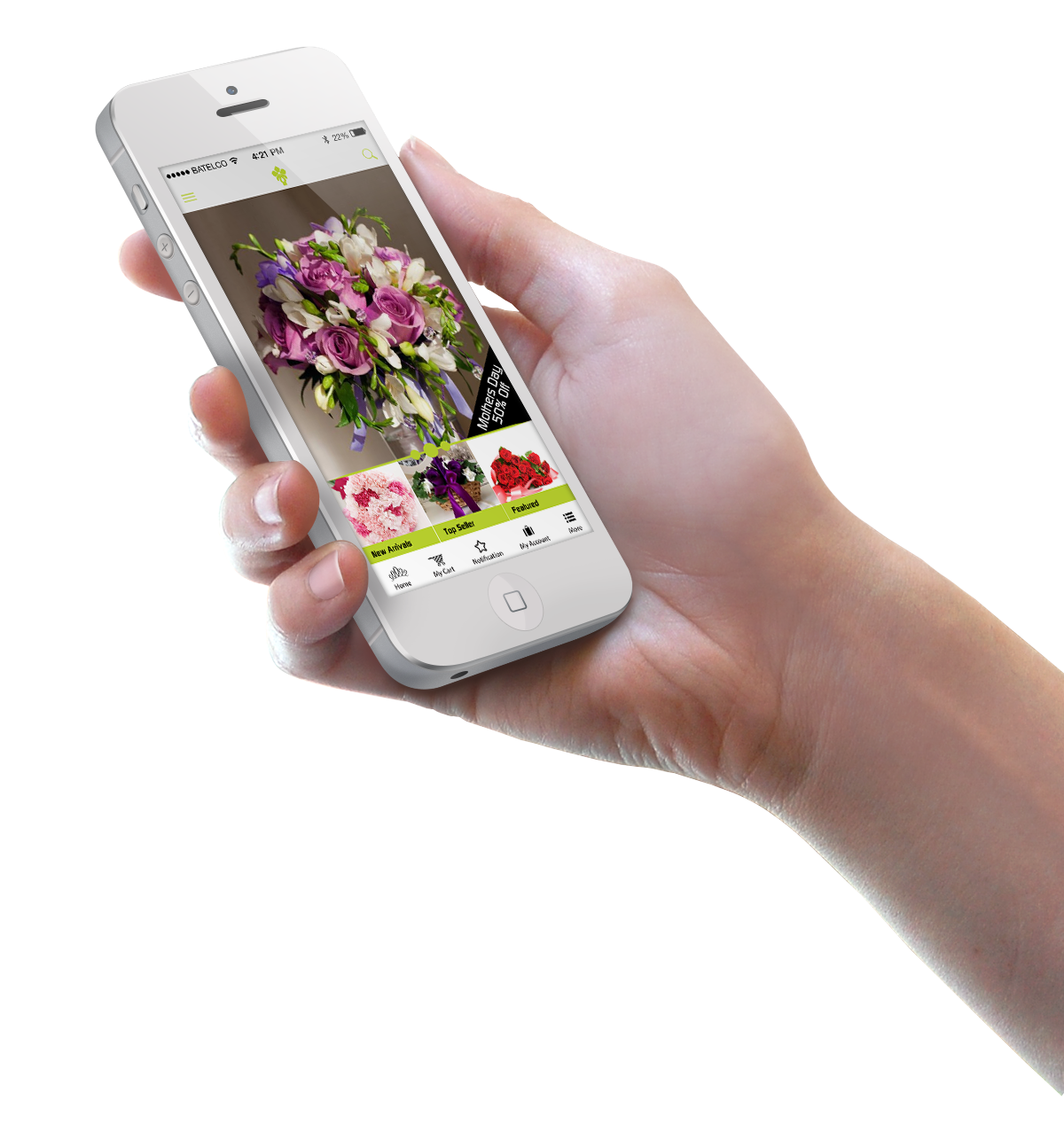 Alia Flowers Mobile App