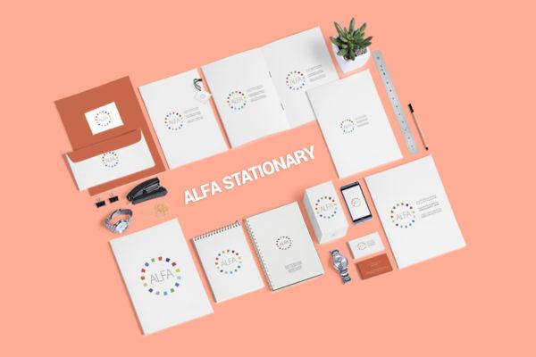 ALFA branding